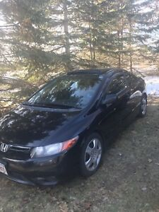 2008 Honda Civic Coupe DX with Sunroof
