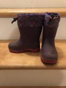 Kamik Snobuster Winter Boots - Size 8 (toddler)