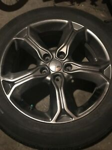 Dodge Journey Crossroad Tires and rims