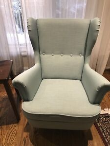 Brand new accent wing chairs in turquoise
