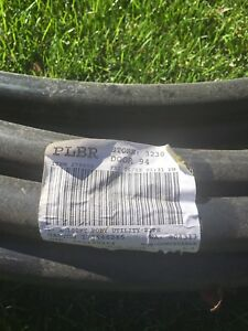 """80' of 1"""" plastic pipe for sale !"""