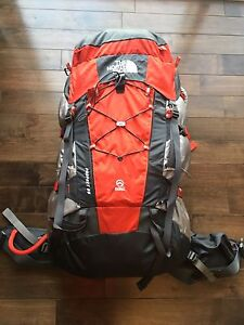 (NEW) The North Face / MENS PROPHET 65L BACKPACK - RED / BLACK