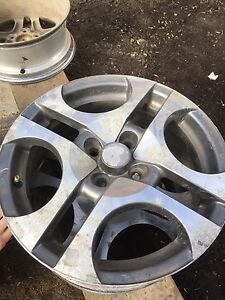 "4 alloy rims 16""Toyota"