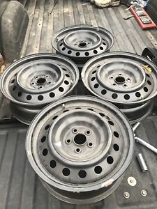 4 Toyota Steel Rims For Sale