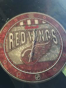 Detroit Red Wings Clock