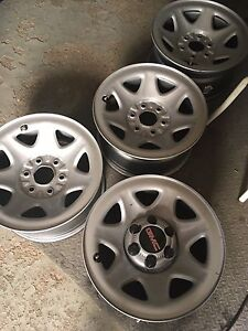 """New 17"""" take-off truck rims"""