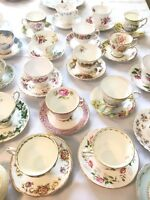 Tea Cup and saucer rentals- bridal and baby showers
