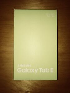 Samsung Galaxy Tablet Tab E BRAND NEW! Never Used