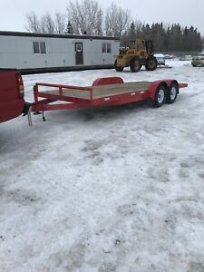2013 Double A 18ft Car Trailer