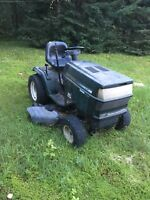 Lawn tractor with plow Muskoka Ontario Preview