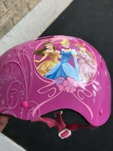 GUC - Girls princess bike helmet