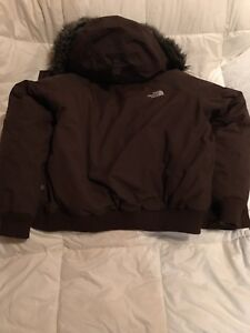 Woman's XL North Face HyVent Winter Coat