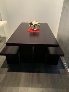 Dining Table & Bench Seats
