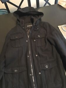 Men's Guess hooded jacket
