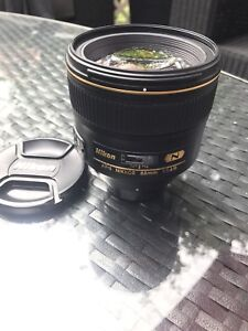 Nikon 85mm 1.4G for sale