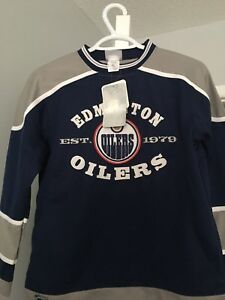 NHL Edmonton oilers hockey jersey
