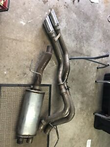 2016 ford F1 50 exhaust system