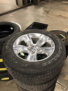 "2017 Dodge Ram 1500 20"" wheels - BRAND NEW!!!"