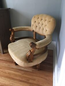 Antique Bustle Chairs (set of 2)