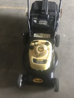 TALON 4 STROKE LAWNMOWER & CATCHER $120 was $199