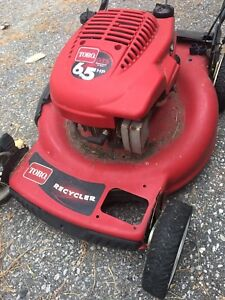 Lawnmower Toro recycler personal pace won't start.