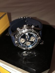 Breitling Chronomat A13352 with Blue Rubber Strap