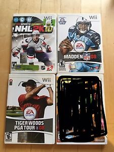 Assorted Nintendo Wii Games - $5 each