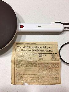 Retro kitchen: Crepe maker