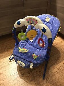 """Fisher Price """"Kick and Play"""" bouncy vibrating chair"""