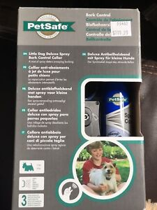 PetSafe bark control collar for small dogs *never used*