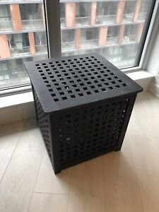 Two IKEA Wooden Cubes