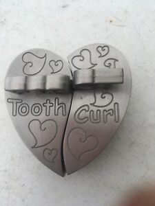 Silver first tooth / curl box