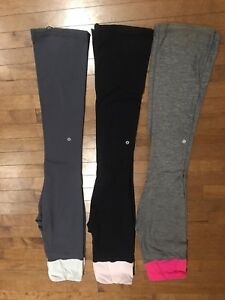 Lululemon tadasana pants $30 each size 6