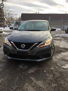 2017 Nissan  Sentra SV ,Nav,Back up camera,sunroof