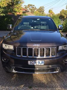 Jeep Grand Cherokee 4x4 2014 WK Laredo Pascoe Vale South Moreland Area Preview