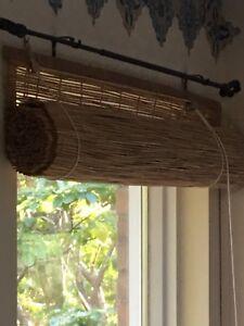 Rideaux de bambou