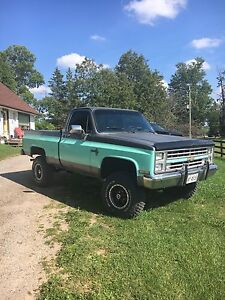 1987 Chevy pickup