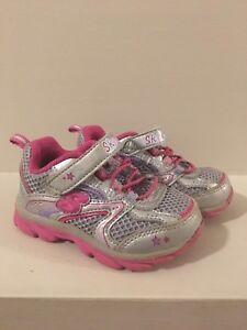 Toddler Girl Size 5 Sneakers/Crocs