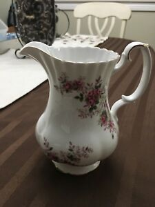 Royal Albert lavender rose pitcher