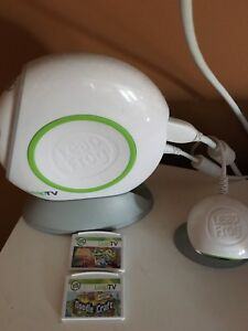 Leapfrog interactive game console