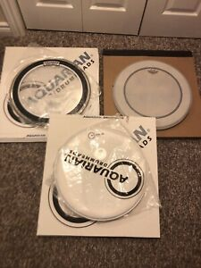 "Drum a Gear. 2 x 18"" Bass Drum Heads & Kickport Package."