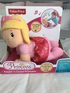 Fisher price crawl Princess Redcliffe Belmont Area Preview