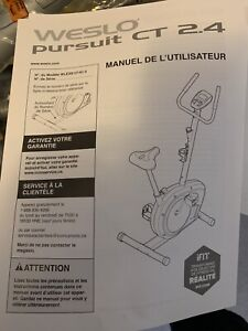 Weslo pursuit ct 2.4 brand new never put together  exercise bike