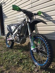 Lightly used kxf 250