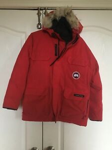 Kids medium Canada goose winter jacket