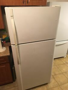 Kenmore Fridge & Stove (White), Used