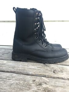 Roadkrome Womens's Doc Motorcycle Doc Boot