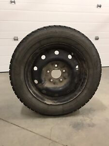 4 Winter Tires Mounted on Rim