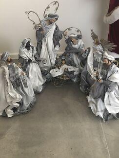 Christmas store nativity sets very cheap