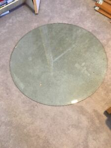 "36"" Glass Round Table Top"